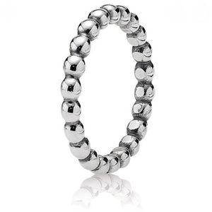 Pandora bubble silver ring
